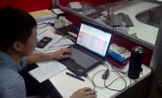 中特创业员工自发制作自动化TOFD工艺参数表格