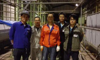 中特公司赴泰国进行检测