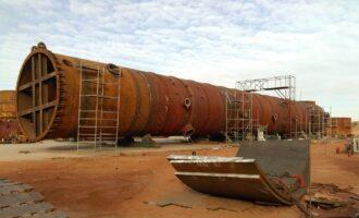 图克工业项目区TOFD检测项目开展已近半年