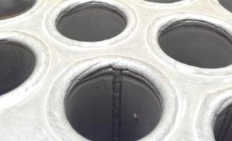 一台焊管换热器的IRIS检测