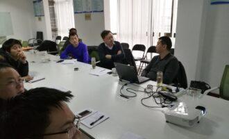 特检协会郑辉博士应邀来我公司进行新技术交流指导