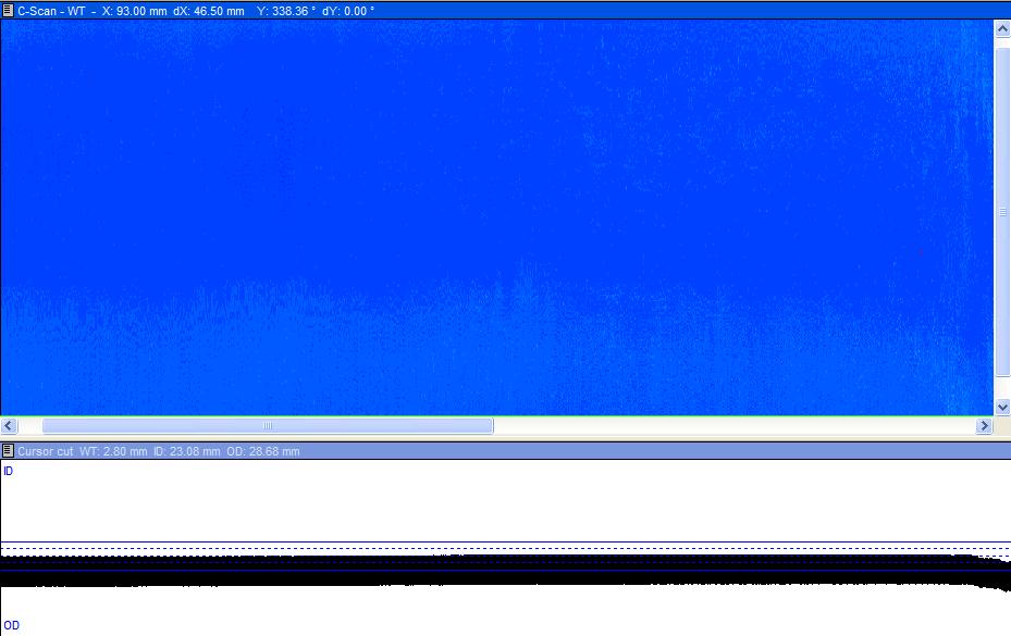 换热管点状缺陷的旋转超声检测
