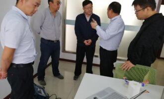 江苏中特与广东汕头超声电子股份有限公司进行技术交流