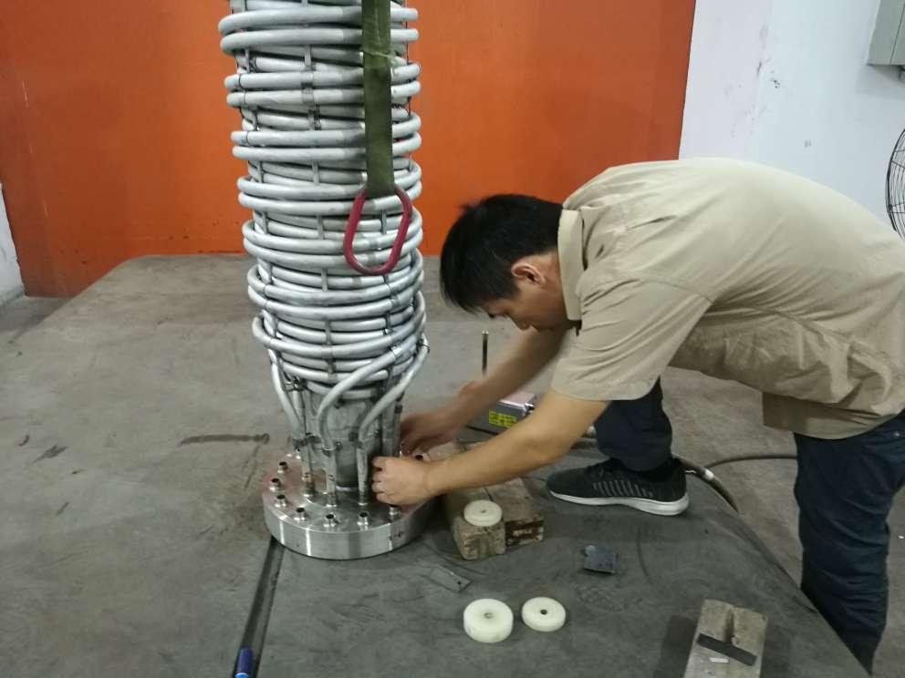 换热器管头焊缝夹钨缺陷案例