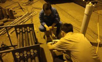 我司与天津某研究院合作进行DR照相检测技术检测炼化装置空冷器腐蚀状况之技术研究